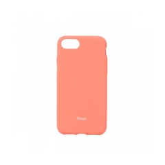 Roar Colorful Jelly - kryt (obal) pre Apple iPhone 7  peach pink
