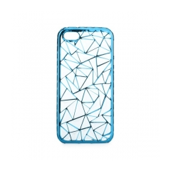 Luxury metalic gel - kryt (obal) pre Apple iPhone 5/5S blue