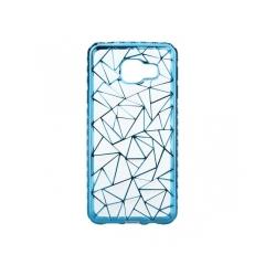Luxury metalic gel - kryt (obal) pre Samsung Galaxy A3 2016 (A310) blue