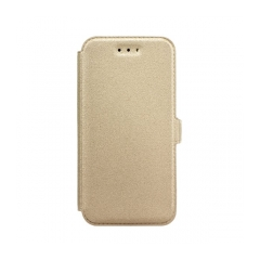 Book Pocket - puzdro pre Samsung Galaxy A5 (2016) gold