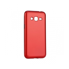 Jelly Case Flash Mat - kryt (obal) pre Samsung Galaxy J3/ J3 (2016) red