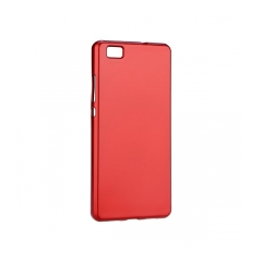 Jelly Case Flash Mat - kryt (obal) pre Huawei P8 Lite (2017) red