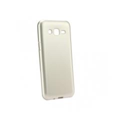Jelly Case Flash Mat - kryt (obal) pre Samsung Galaxy J7 (2017) gold