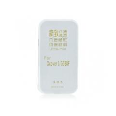 Silikónový 0,3mm zadný obal pre Samsung Galaxy Xcover 4 transparent
