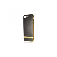 Original kryt (obal) GUESS GUHCP7LSTRBAG iPhone 7   black / gold