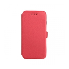 Book Pocket - puzdro pre Huawei P8 Lite 2017 red