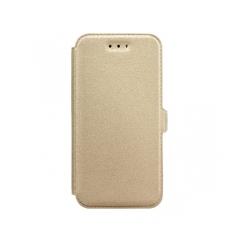 Book Pocket - puzdro pre Huawei P10 gold