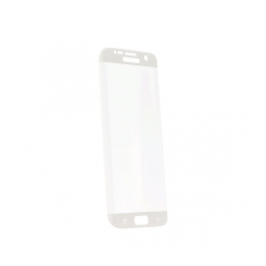 Tempered Glass  - Samsung Galaxy S8 Full Face - white tempered glass