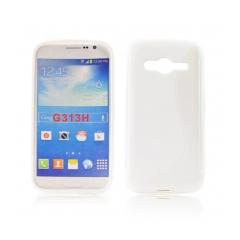 Puzdro gumené pre Samsung Galaxy ACE NXT biele
