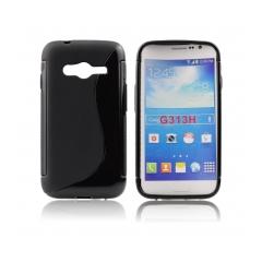Puzdro gumené pre Samsung Galaxy ACE NXT cierne