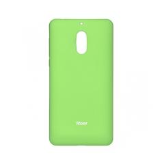 Roar Colorful Jelly - kryt (obal) pre Nokia 6 2017 lime
