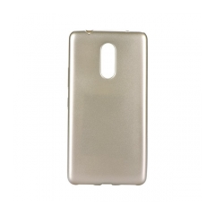 Jelly Case Flash Mat - kryt (obal) pre Lenovo K6 Note gold