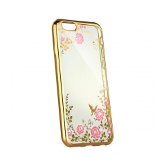 Forcell DIAMOND - puzdro pre  Apple iPhone 5/5S/SE gold