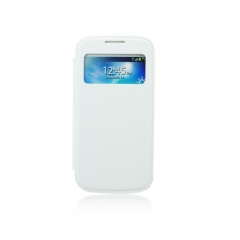 S-VIEW case with window - Samsung i9190 Galaxy S4 mini white