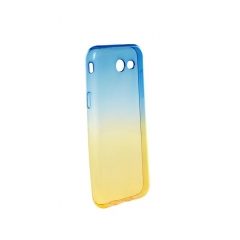 Forcell OMBRE - puzdro pre Samsung Galaxy J3  2017 blue-gold