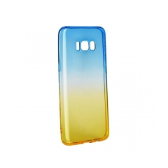 Forcell OMBRE - puzdro pre Samsung Galaxy S8  PLUS blue-gold
