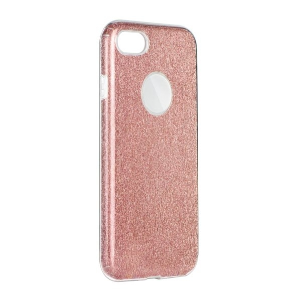 Forcell SHINING - puzdro pre Apple iPhone 5 5S SE clear pink ... fcda80c67ef