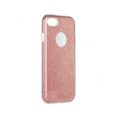 Forcell SHINING - puzdro pre Apple iPhone 5 5S SE clear pink da65a71c231