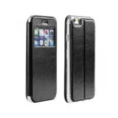 MAGNET View - puzdro pre Apple iPhone 5/5S/SE black