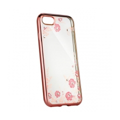 Forcell DIAMOND - puzdro pre Huawei Y7 pink-gold
