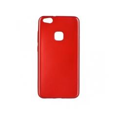 Jelly Case Flash Mat - kryt (obal) pre Huawei Y6 2017  red