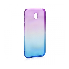 Forcell OMBRE - puzdro pre Samsung Galaxy J7 2017 purple-blue