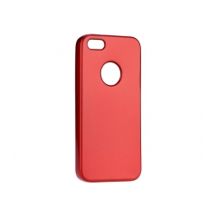 Jelly Case Flash Mat - kryt (obal) pre  Apple iPhone 8 red