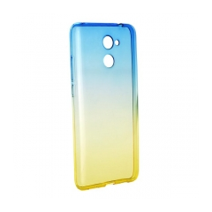 Forcell OMBRE - puzdro pre Huawei Y7 blue-gold