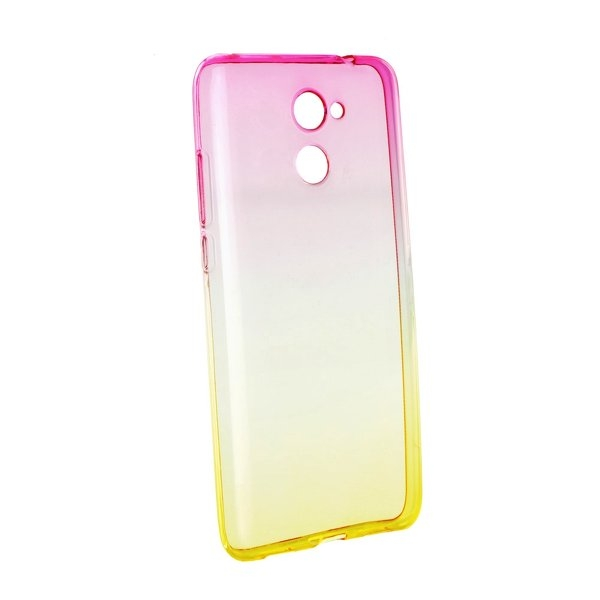 Forcell OMBRE - puzdro pre Huawei Y7 pink-gold  8614c52313d