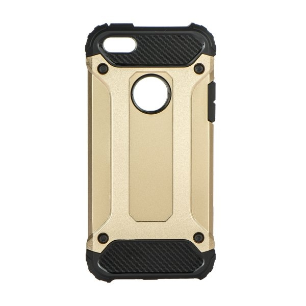 Forcell ARMOR - zadný kryt pre Apple iPhone 5 5S SE gold  1127c0d7f02