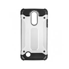 Forcell ARMOR - zadný kryt pre LG K10 2017 silver