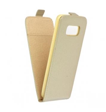 Flip fresh - Puzdro pre Samsung Galaxy S8 Plus gold