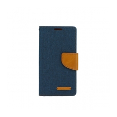 Canvas Book - puzdro pre Apple iPhone X navy blue