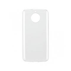 Silikónový 0,5mm zadný obal pre - Lenovo MOTO G6 PLUS transparent
