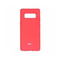 Roar Colorful Jelly - kryt (obal) pre Samsung Galaxy NOTE 8  hot pink