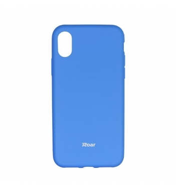 Roar Colorful Jelly - kryt (obal) pre Apple iPhone X light blue