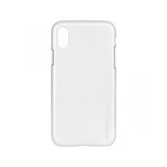 Mercury i-Jelly - kryt (obal) pre Apple iPhone X silver