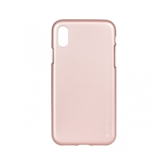 Mercury i-Jelly - kryt (obal) pre Apple iPhone X ROSE GOLD