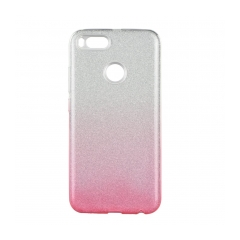 Forcell SHINING - puzdro pre XIAOMI Redmi 5X/A1 clear/pink