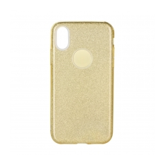 Forcell SHINING - puzdro pre Apple iPhone X gold