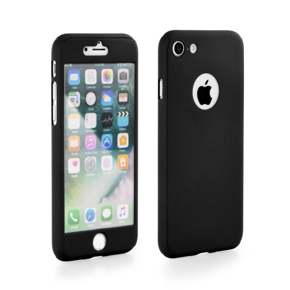 360 Full Body obal + sklo pre Apple iPhone X black  a3802ea92f3