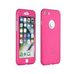 360 Full Body obal + sklo pre Apple iPhone X pink