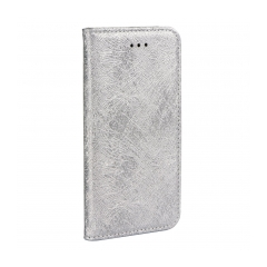 MAGIC Book - puzdro pre Apple iPhone 5/5S/5SE silver