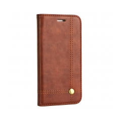 Prestige Book - puzdro pre Apple iPhone 5/5S/5SE brown
