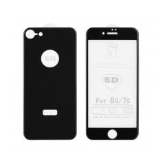 5D Full Glue Temperované ochranné sklo pre Apple iPhone X ( front+back ) black