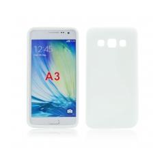 Puzdro gumené S-CASE Samsung Galaxy A3 biele