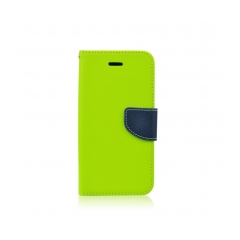 Puzdro Fancy Diary - Samsung Xcover3 lime-navy