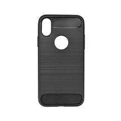 Forcell CARBON - puzdro pre Apple iPhone X black