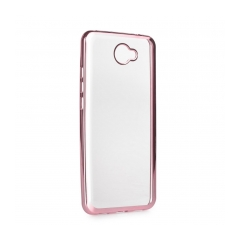 ELECTRO Jelly - zadný obal pre Huawei Y7 rose gold