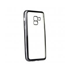 ELECTRO Jelly - zadný obal pre Samsung Galaxy A5 2018 / A8 2018 black